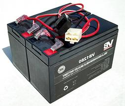 Razor Dirt Quad	Battery Replacement - Includes Wiring Harnes
