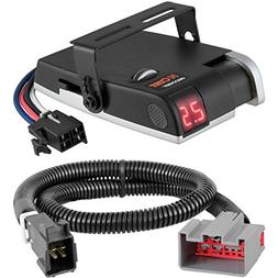 CURT Discovery Brake Controller & Wiring Kit for Ford F-150,
