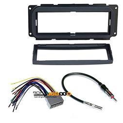 Chrysler 2002-2007 Town & Country CAR Stereo Dash Install MO