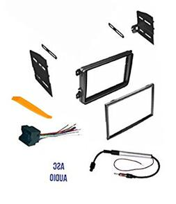 CAR Stereo CD Player Dash Install MOUNTING KIT Wire Harness