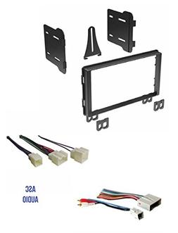 ASC Audio Double Din Car Stereo Radio Install Dash Kit and W