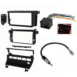 Double DIN Dash Kit for 1999 - 2006 BMW 3-Series w/ 5-Switch
