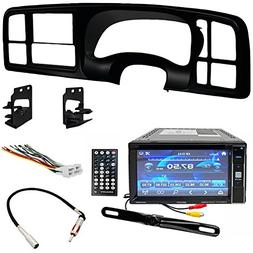 Double DIN DVD Includes Dash Kit - Wiring Harness - Radio An