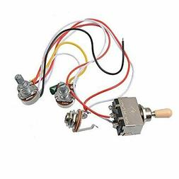 Electric Guitar Wiring Harness Kit 3 Way... on