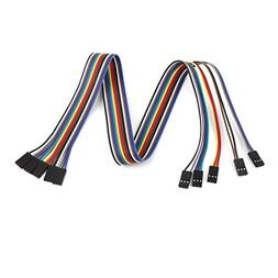 50cm 2.54mm 3 Pin Female to Female F/F Jumper Wire Connector