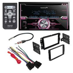 pioneer fh-x720bt aftermarket car stereo dash installation k
