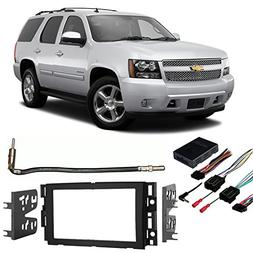 Fits Chevy Tahoe 2007-2014 Double DIN Stereo Harness Radio I