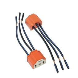 uxcell 2 x H4 9003 Ceramic Wire Wiring Harness Sockets for C