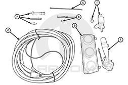 Hard Top Switch and Wiring Package Mopar Part #82210215AG