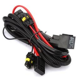 Kensun HID Conversion Kit Universal Single Beam Relay Wiring