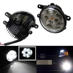 iJDMTOY Xenon White 18W High Power LED Fog Lights for Lexus