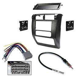 Jeep Wrangler 2003-2006 Double Din Radio Stereo Car Install