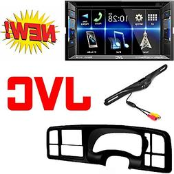 JVC Double DIN Bluetooth in-Dash DVD/CD/AM/FM Car Stereo wit
