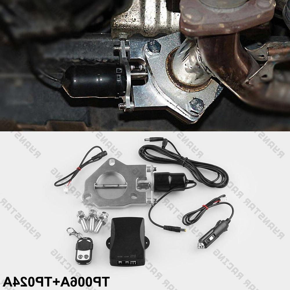 """2.25""""/2.5""""/3"""" Exhaust Downpipe Kit Remote control Kit"""