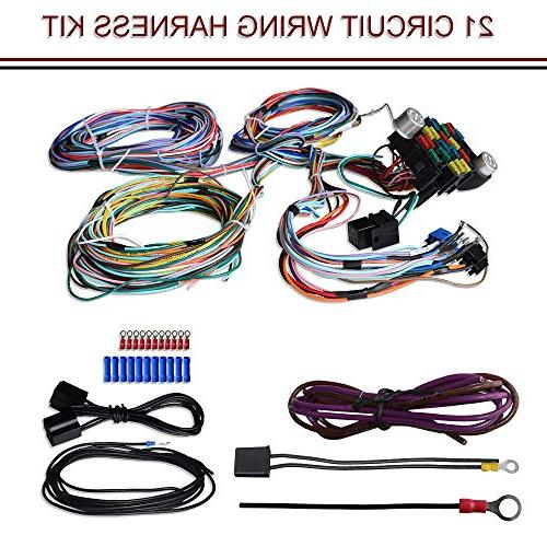 21 circuit wiring harness kit