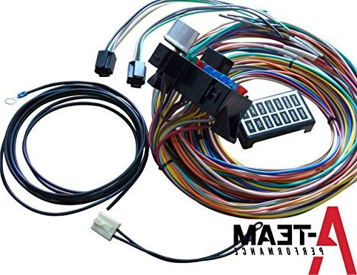 A-Team 14 CIRCUIT BASIC WIRE WIRING HARNESS ROD TRUCK