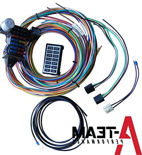 A-Team Performance 14 CIRCUIT BASIC WIRE KIT SMALL WIRING HA