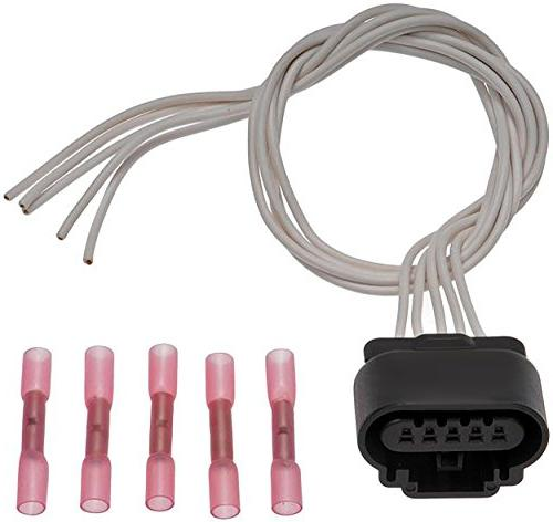 APDTY 116687 Wiring Harness Pigtail Connector 5-Wire Taillig