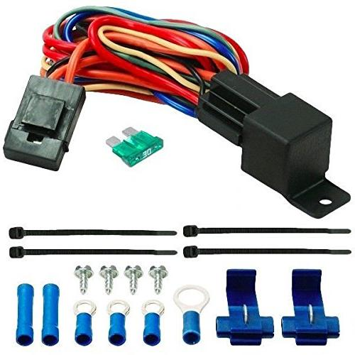 american volt 60a relay wire harness dual 12  switch wiring harness