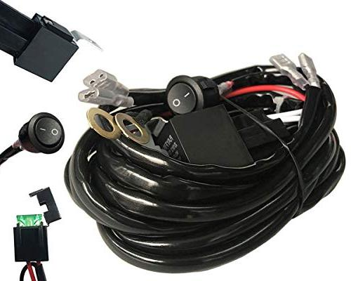 autosonic led wiring harness 2 lead heavy duty for led light