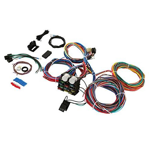 mophorn wiring harness kit 12 circuit hot rod Best Hot Rod Wiring Harness street rod wiring harness wiring diagram