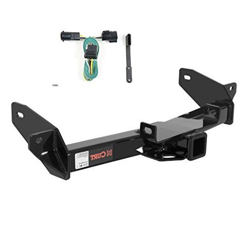 CURT Class 4 Trailer Hitch Bundle with Wiring for Ford F-150