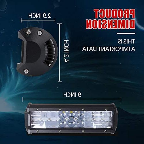 DOT Inch Led Backup Reverse + 1x Rocker + Wiring for Trailer Boat Dodge Chevy Ford F250 Tractor
