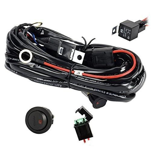 Eyourlife Wiring Harness, Heavy Duty Wiring Harness Kit on universal boat antenna, universal boat shifter, universal boat mounting brackets, universal boat seat, universal ignition switches, universal boat windshield,