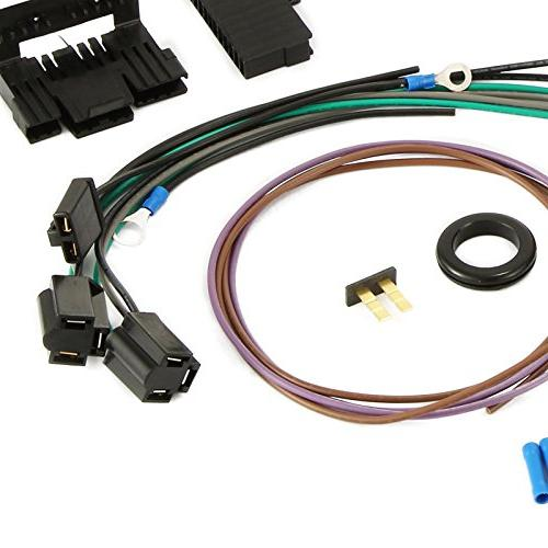Mophorn Harness Long Wiring Harness standard Color Wiring for Chevy Mopar Hotrods Ford
