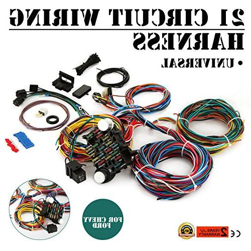 21 Circuit Wiring Harness | #1 Wiring Diagram Source