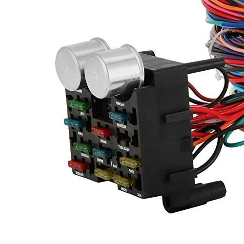 mophorn 12 circuit universal wiring muscle car wires