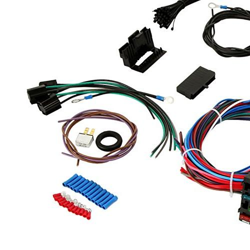 Mophorn Wiring Harness Kit 12 Circuit Hot Rod on universal headlight kit, universal clutch kit, universal bracket kit, universal grille kit, universal exhaust kit, universal intercooler kit, universal gasket kit, universal horn kit, universal aircraft harness kit,