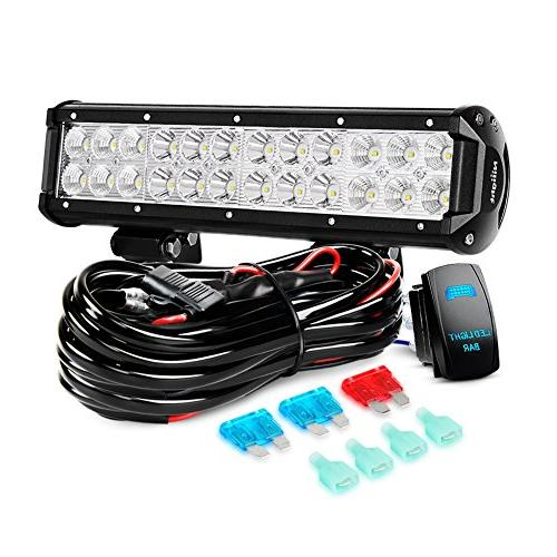 12 Inch Light Bar With Wiring Harness - Wiring Diagram Article Nilight Led Light Bar Wiring Diagram For on