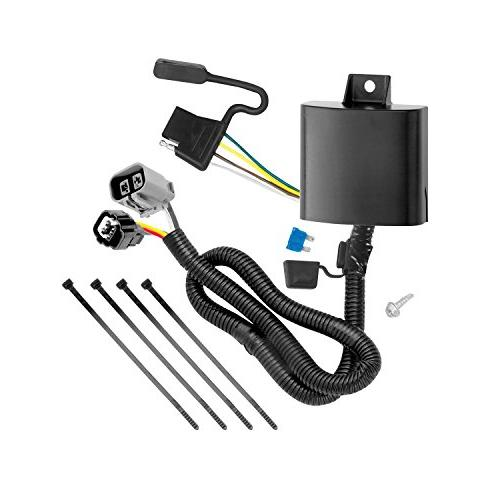 Tekonsha 118269 4-Flat Tow Harness Wiring Package with Circu