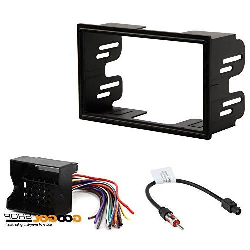 car stereo dash install mounting