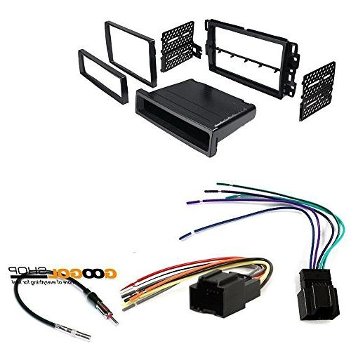 chevrolet traverse car stereo dash