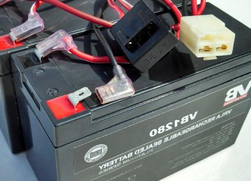 Razor Quad Battery Replacement - Harness by Vici Battery -