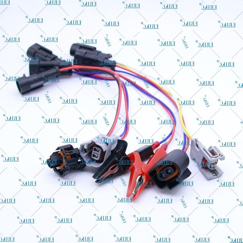 ERIKC Diesel Injector <font><b>harness</b></font> Adapters <font><b>Wired</b></font> Adapter Converter and sapre <font><b>replacements</b></font> <font><b>electric</b></font> parts