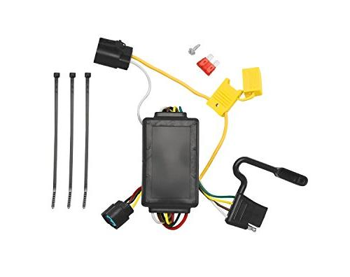 Tekonsha 118258 4-Flat Tow Harness Wiring Package with Circuit Protected ModuLite Module