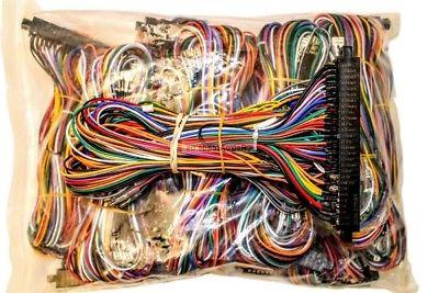 JAMMA Mame Cabinet Wiring Harness Loom Multicade Arcade on electric harness for loom, warping a 4 harness loom, wiring loom sleeve,