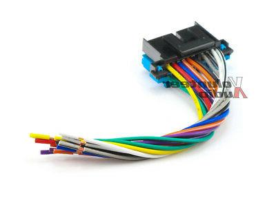 Plugs Into Factory Car Stereo Wiring Wire Fits
