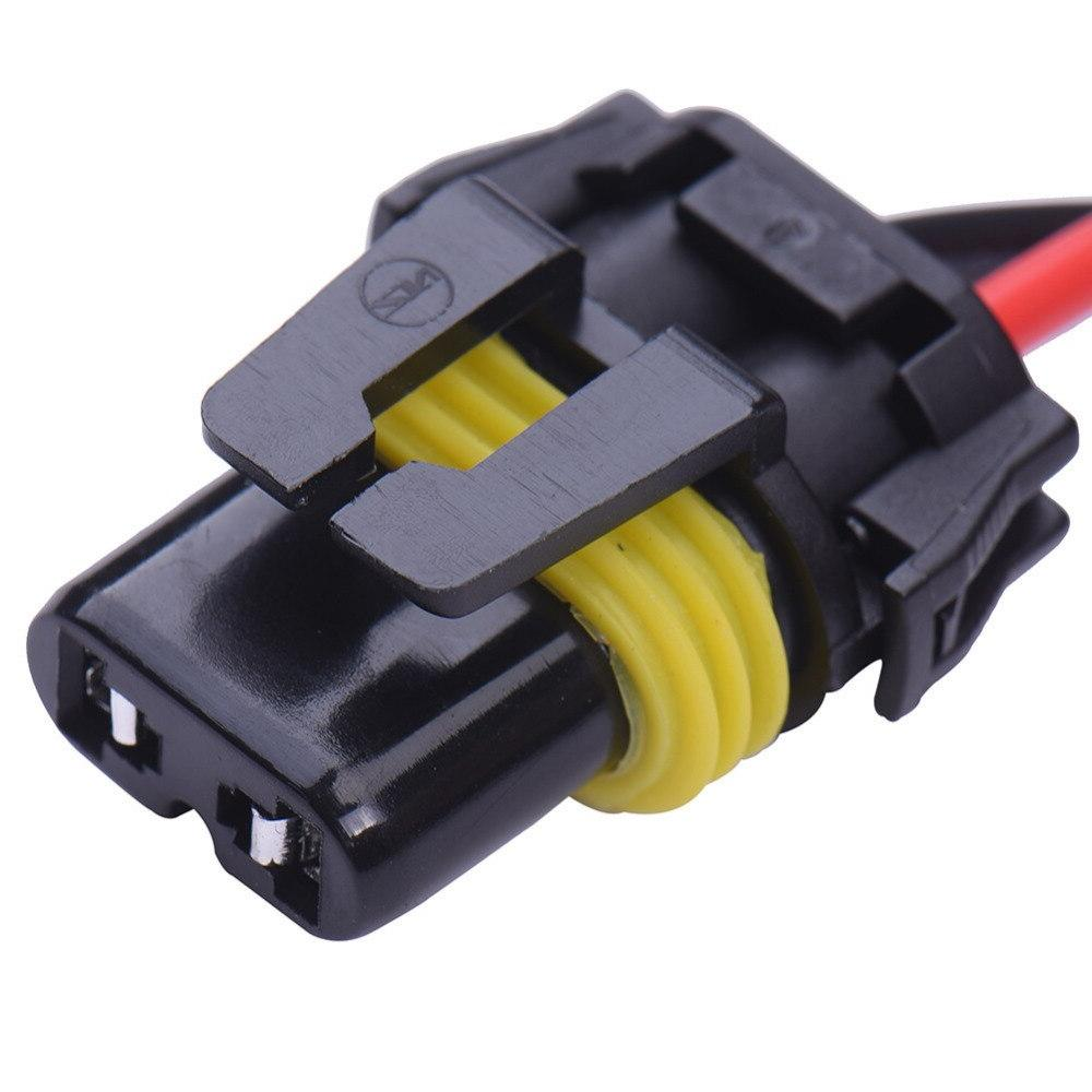 Power Cable Line 9006/HB4 Xenon HID <font><b>Light</b></font> 40A Extention Fog Kit Fuse Power