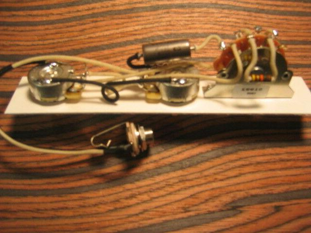 premium wiring harness for broadcaster nocaster telecaster