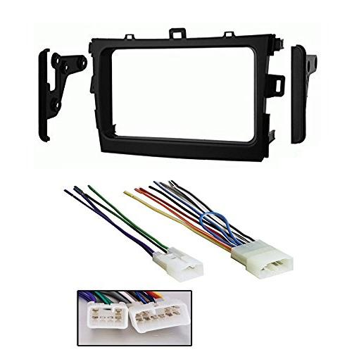 Harness for Toyota Corolla 2009-2011 Single Double DIN Installation Dash Kit