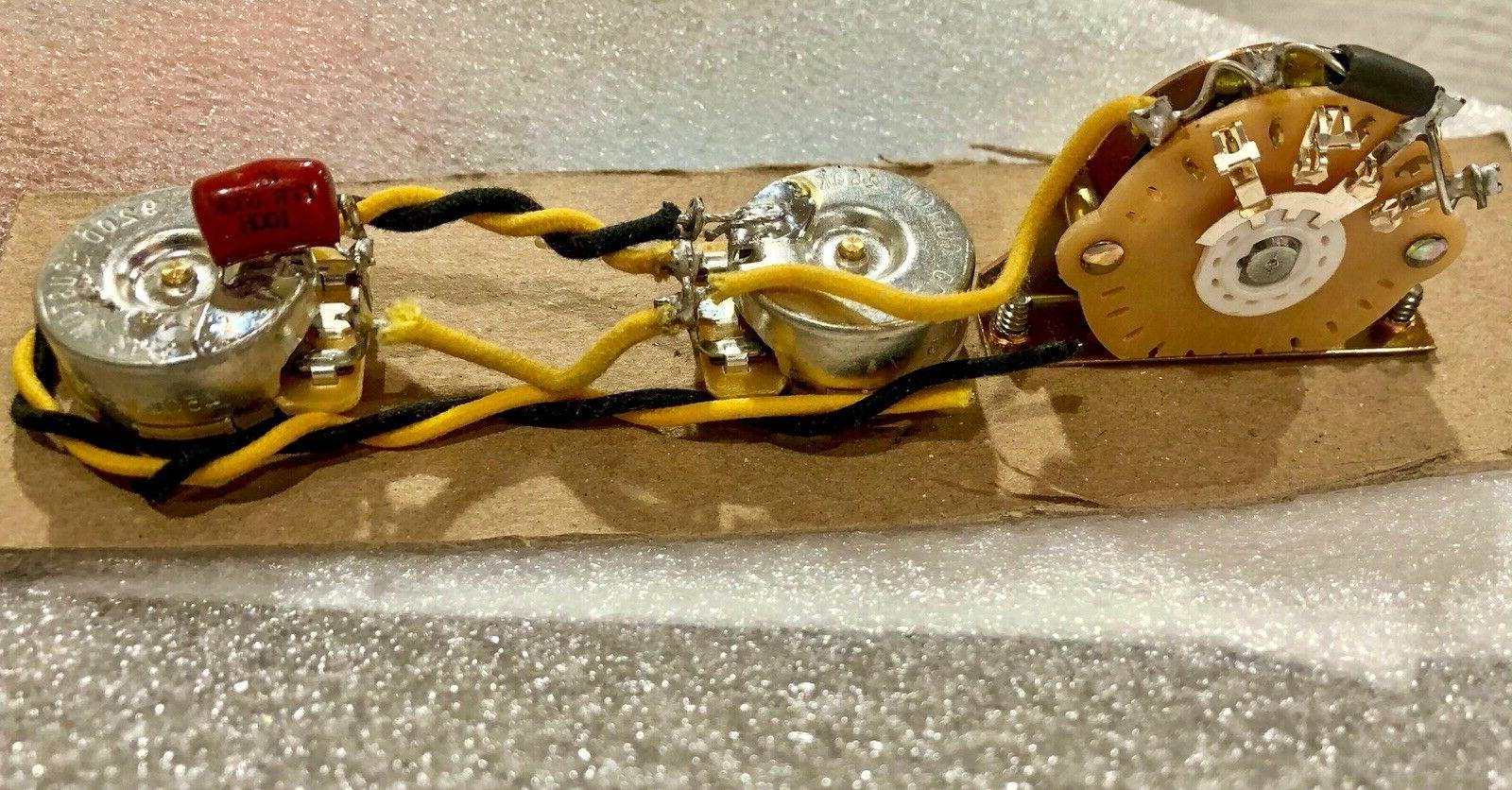 Wiring Harness Telecaster - 250K CTS - - Prewired Tele