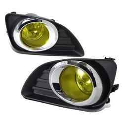 Spec-D Tuning LF-CAM10AMOEM Toyota Camry Yellow Lens Driving