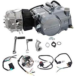 wphmoto lifan 125cc engine motor and wire harness wiring kit