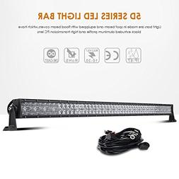 Auxbeam 52inch 300W Led Light Bar Combo PHILIPS LEDs for Pic