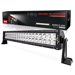 MICTUNING 21.5 Inch 120W Combo Led Light Bar - 8000 Lumen, 6
