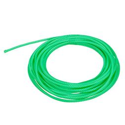 uxcell 32ft 2.3mm PET Expandable Braided Sleeving 5m Green C